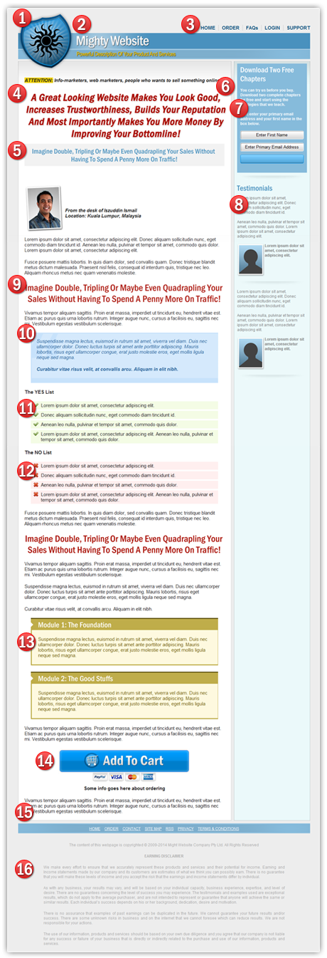 Download best SEO template responsive