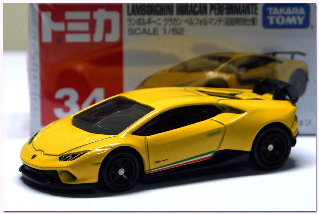 Tomica 34 Lamborghini Huracan Performante Asia Exclusive 1:62