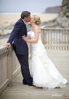 Watergate Bay cornwall wedding Picshore Photography Cornwall beach wedding