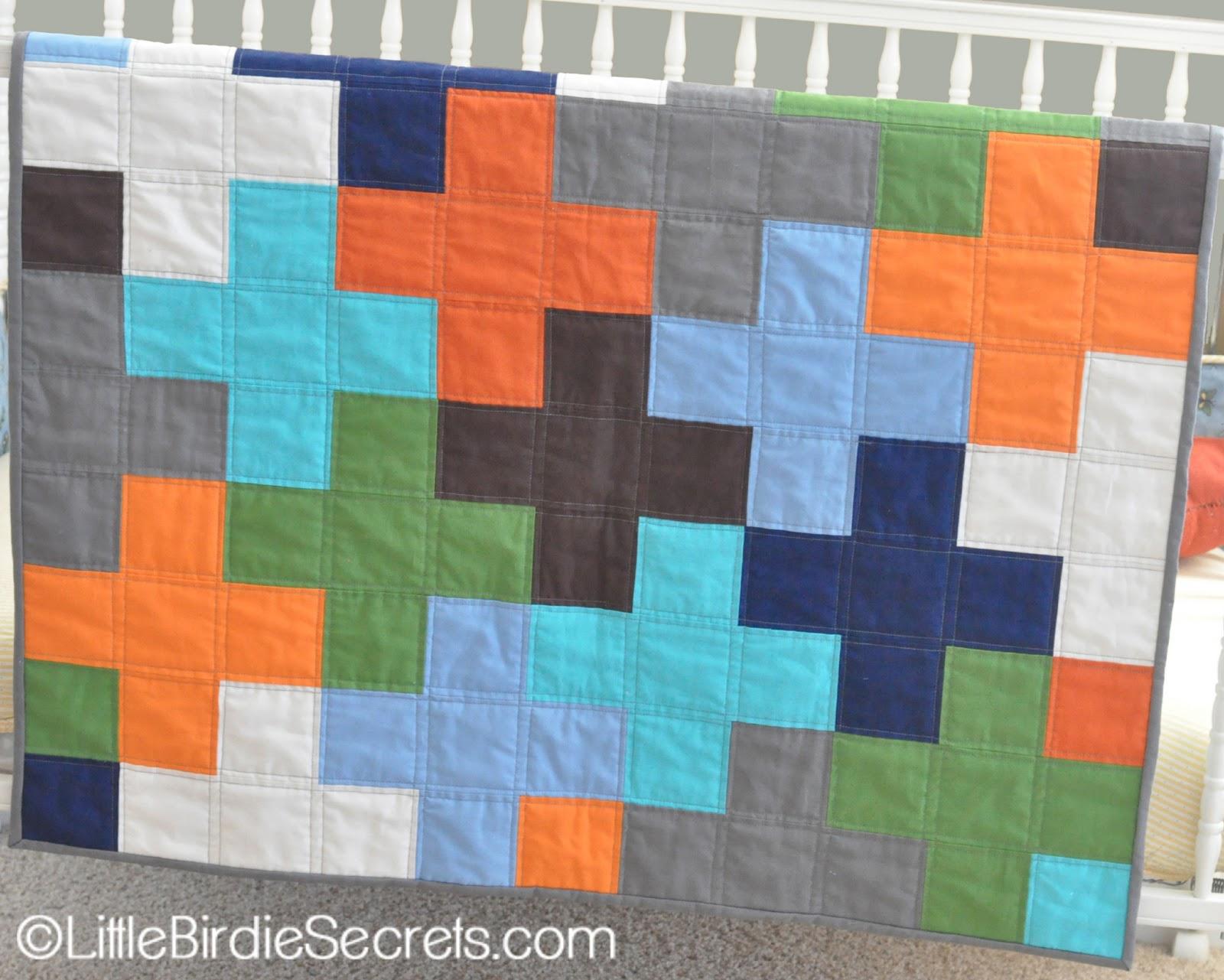 Free Plus Quilt Pattern Tutorial Little Birdie Secrets