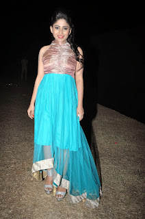 Actress Madhulagna Das Picture Gallery in Blue Dress  24.jpg