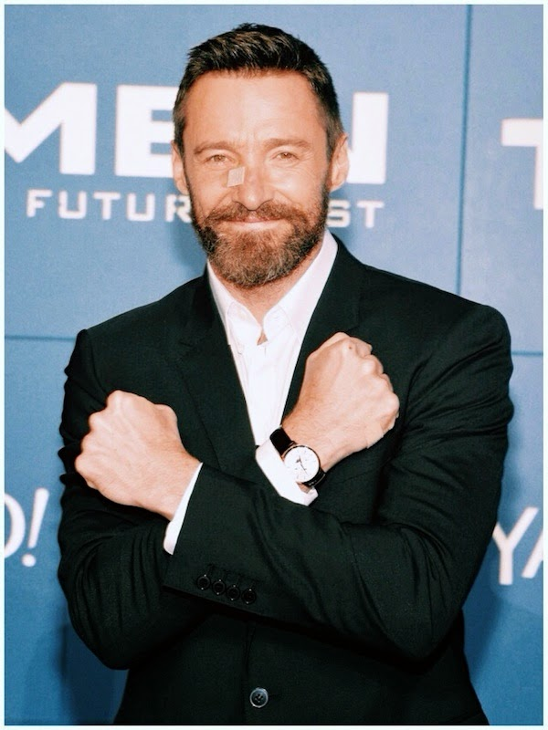 Hugh Jackman's Montblanc Meisterstück Heritage Perpetual Calendar timepiece - 'X-Men: Days Of Future Past' World Premiere