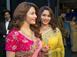 Madhuri Dixit Looking Awesome In Saree
