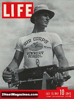 Life magazine cover features printed T-shirt