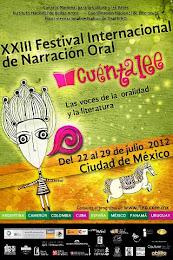 XXIII Festival Internacional de Narrativas Cuéntalee México