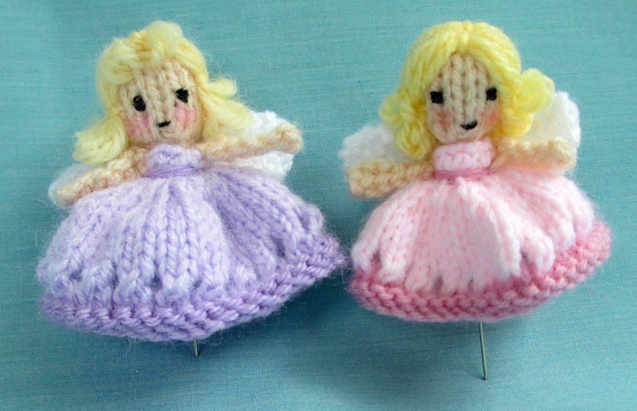 Flutterby Patch: FREE PATTERN - Fairy and pin cushion