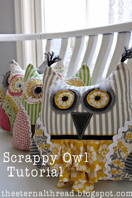 Free Pattern Day: Owls ! | Quilt Inspiration | Bloglovin\'