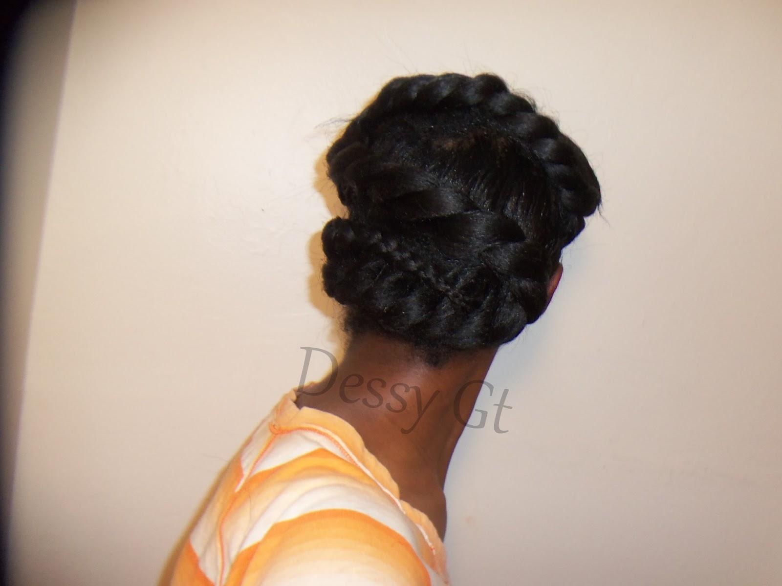 Dessyluvs: S Braid Relaxed Hair