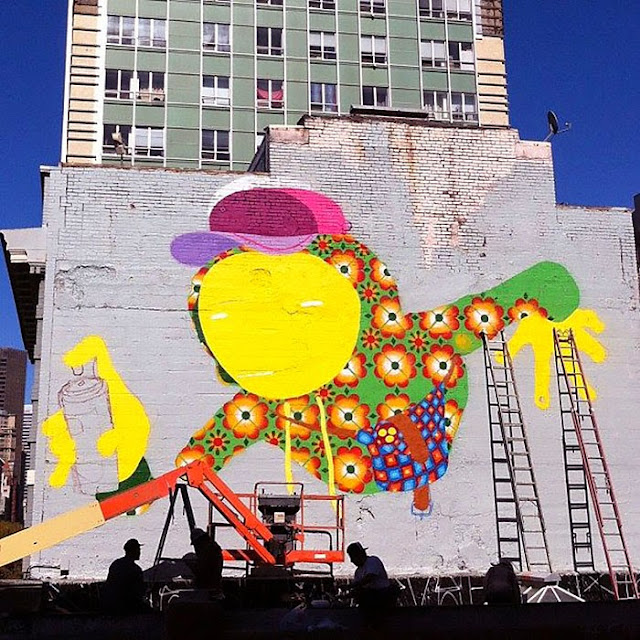 Street Art By Brazilian Duo Os Gemeos On The Streets Of San Francisco, USA. 6