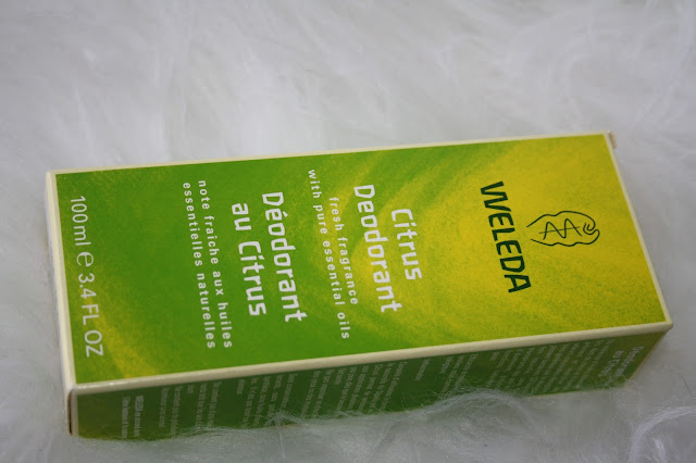 Weleda Natural Citrus Deodorant