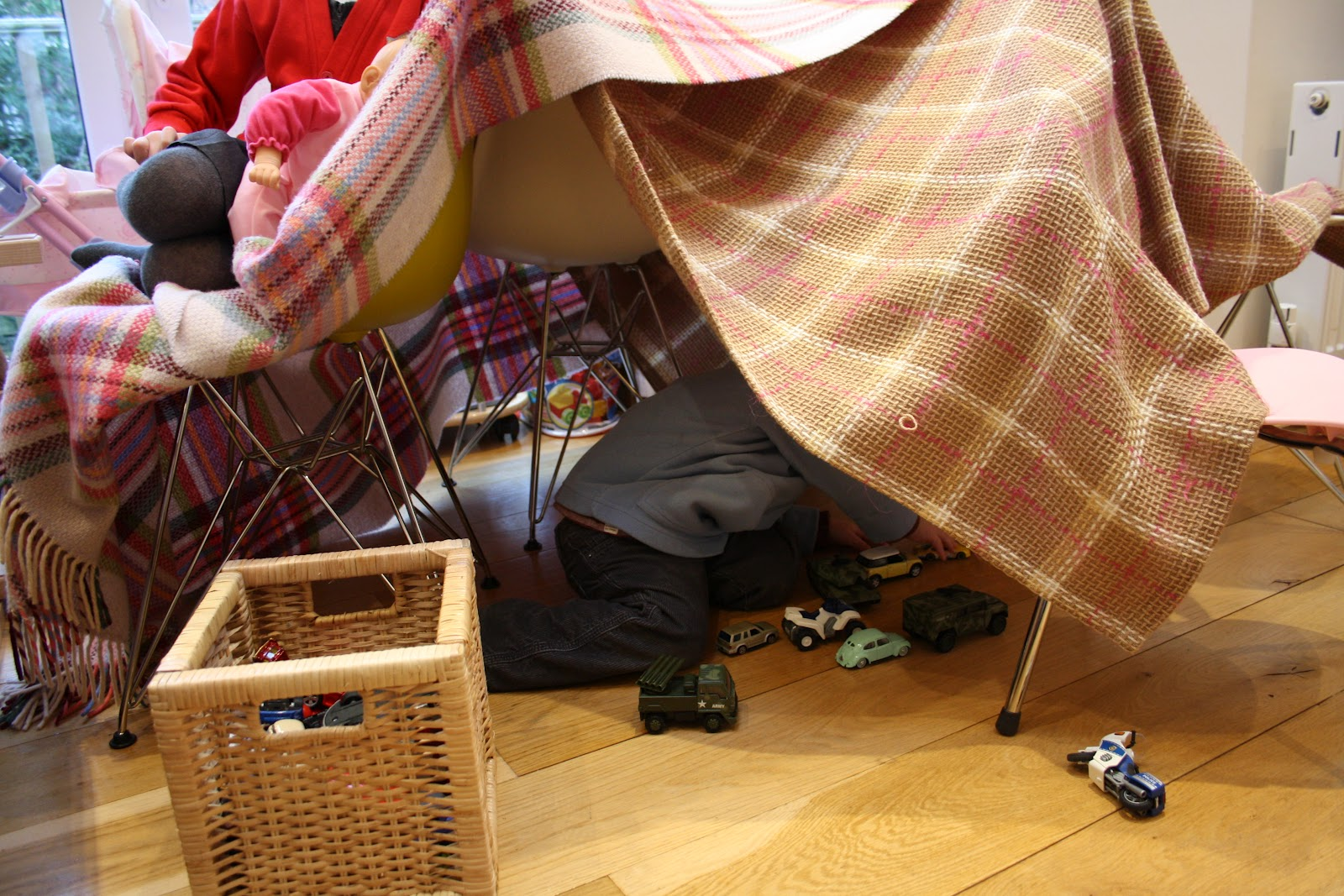 Tales From A Happy House Den Building Week