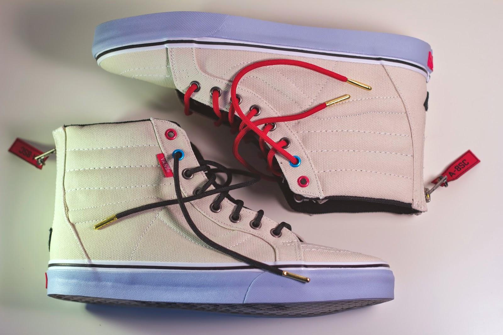 sole classics vans sk8 hi zip a8sc