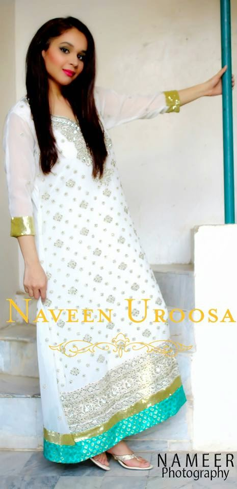 Naveen Uroosa Formal Dresses Collection 2014-15
