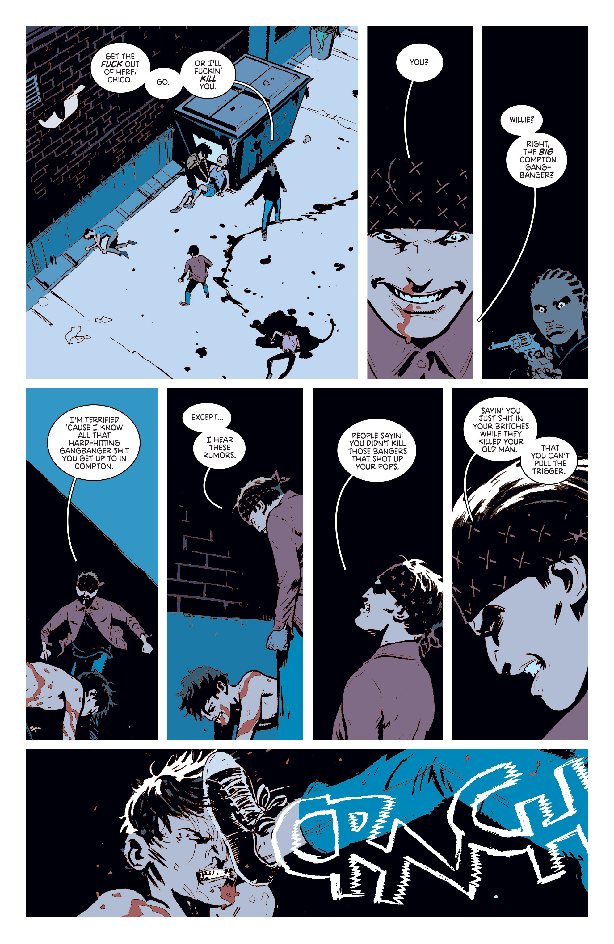 Read online Deadly Class comic -  Issue #6 - 14