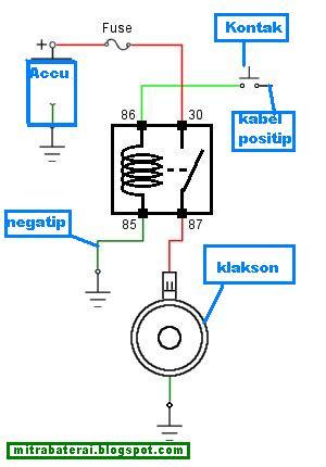 Cara kerja relay suka berita kita cara pasang relay klakson ccuart Choice Image