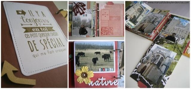 Mini álbum scrapbooking viaje / travel scrapbook album / Mini album voyage