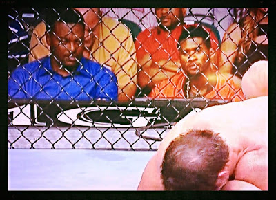 Kevin Sumlin was ringside at UFC 162 with Usher.