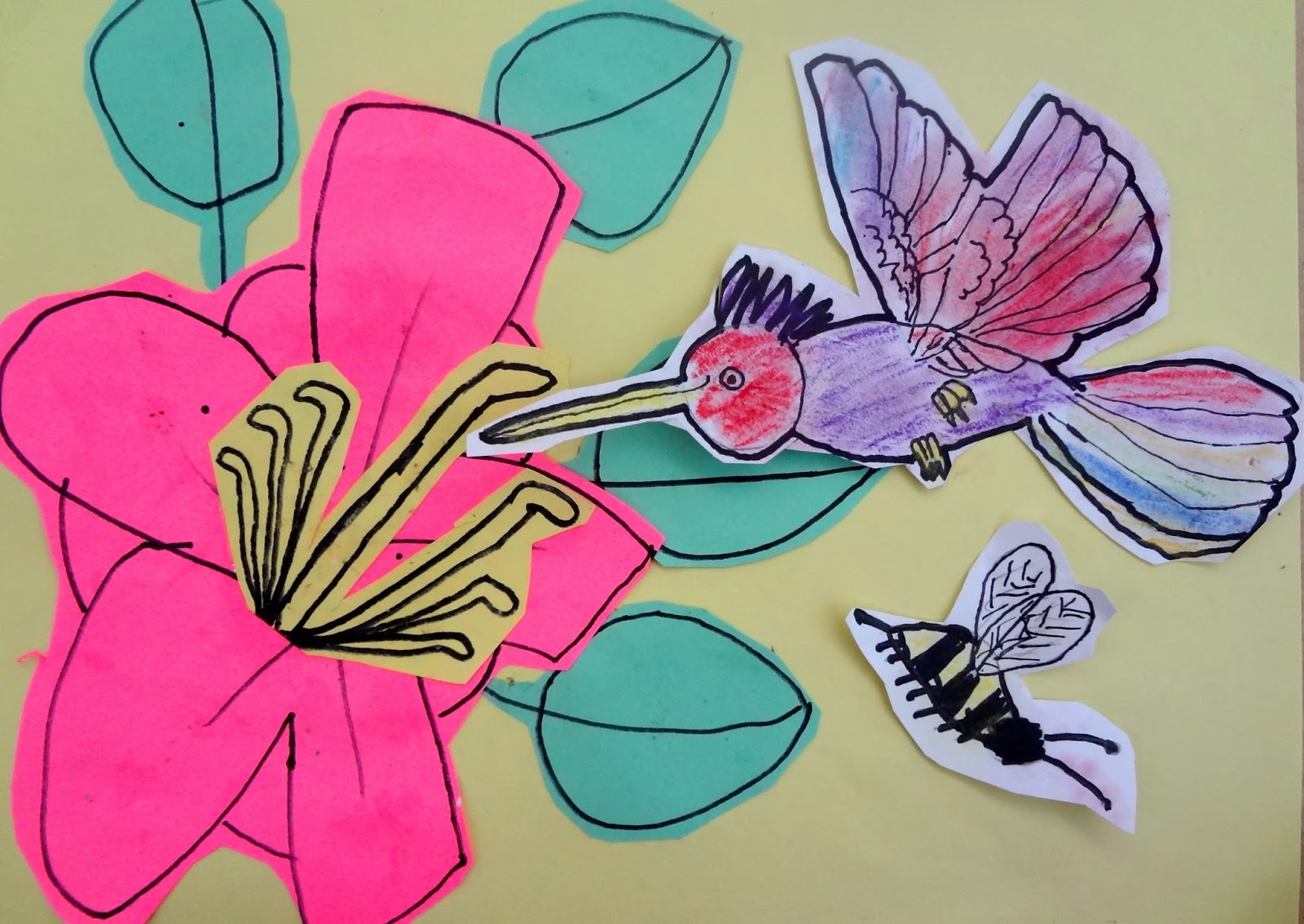 The Talking Walls Art Science Integrated Pollination and Parts of a Flower