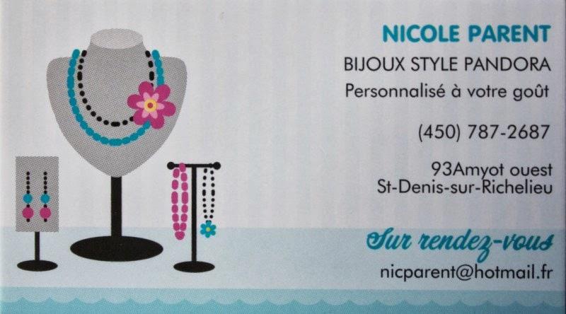 Les pandora de Nicole
