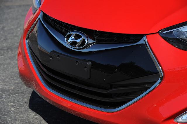 передний бампер Hyundai Elantra Coupe 2013