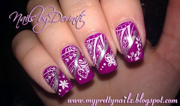 Konad Nail Art Stamping Polish Hession Hairdressing