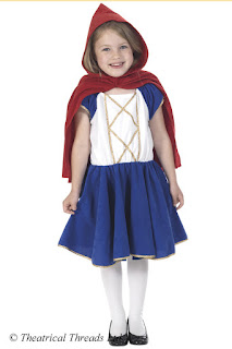 Little Red Riding Hood Kids Costume from Theatrical Threads Ltd