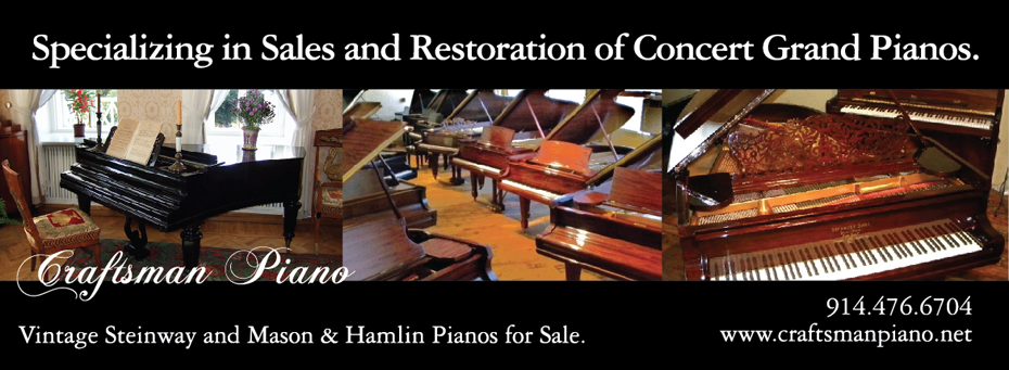 Craftsman Piano: Steinway Piano Sales, Piano Restoration, Vintage Steinway Grand Pianos
