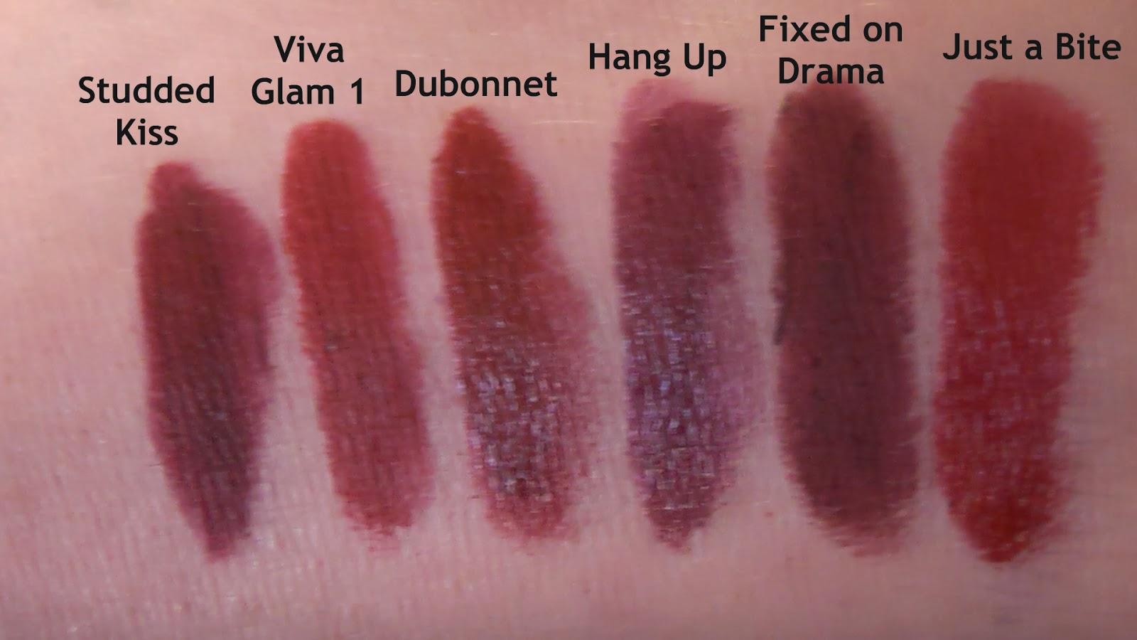 Bien connu UNAPOLOGETIC: MAC Punk Couture Lipstick Haul (comparison and swatches) AZ84