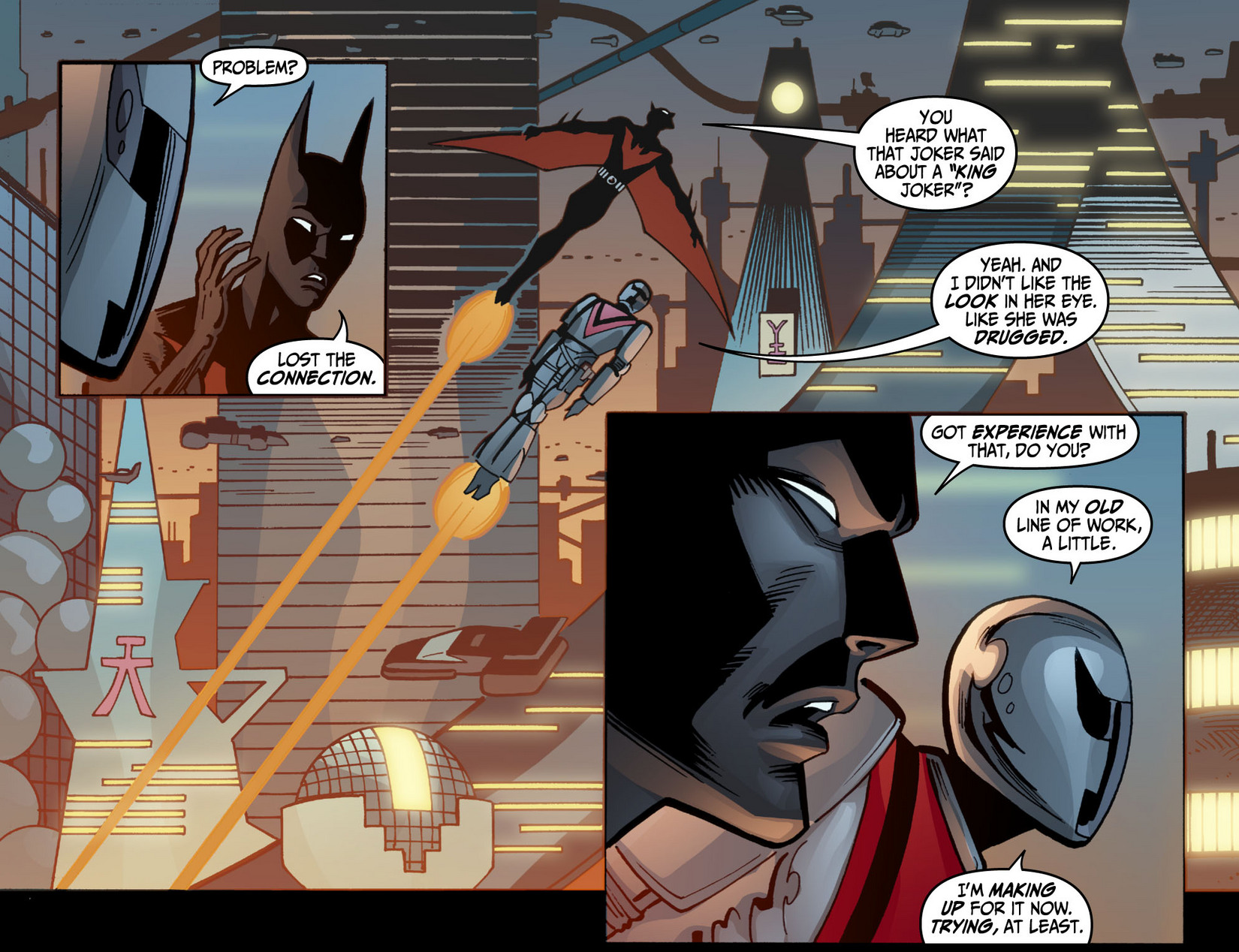 Batman Beyond (2012) Issue #12 #12 - English 15
