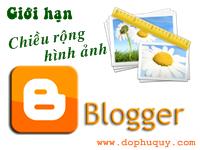 Giới hạn chiều rộng hình ảnh Blogger/Blogspot