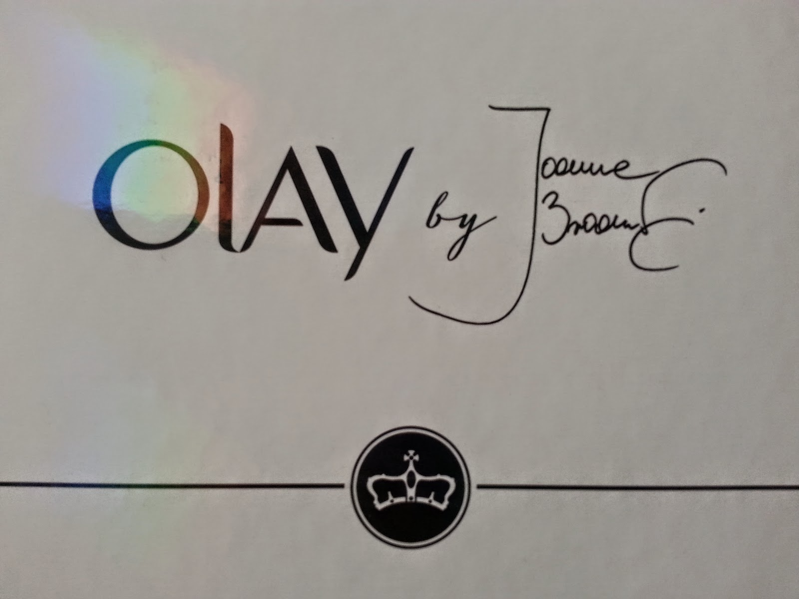 beGLOSSY by Joanna Brodzik - Olay Total Effects