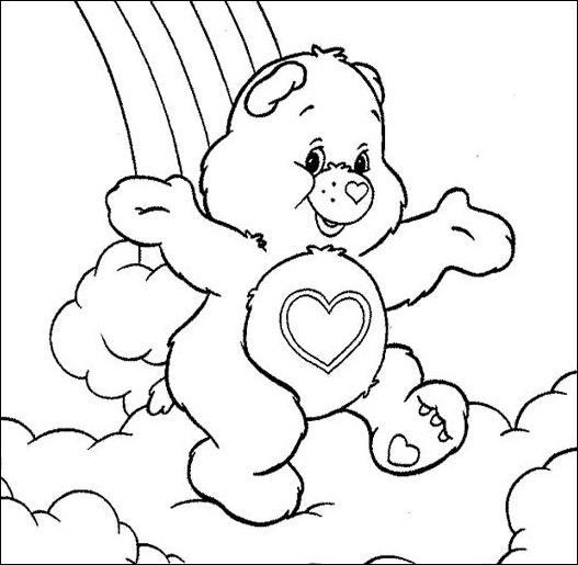 Dibujos de los Ositos cariñositos para colorear | Dibujos para Niños