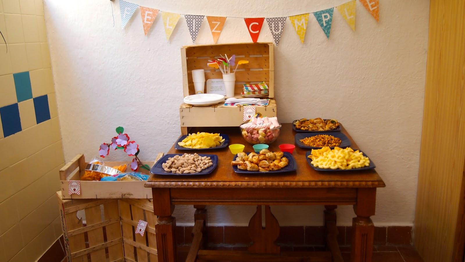 El placer del hacer preparativos cumplea os 3 a itos - Ideas para celebrar un cumpleanos en casa ...
