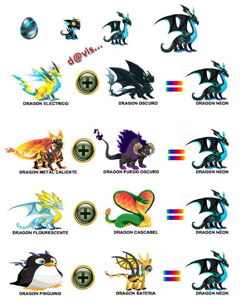 Como obtener Dragón Neon