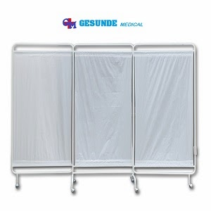 Bed Screen 3 Bidang