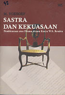 toko buku rahma: buku SASTRA PROPAGANDA, pengarang sunu wasono, penerbit wedatama widya sastra