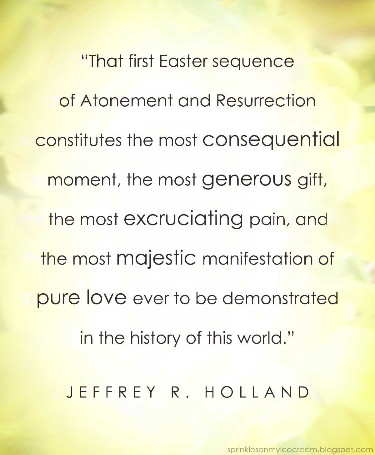 Lds easter quotes merry christmas and happy new year 2018 lds easter quotes negle Images