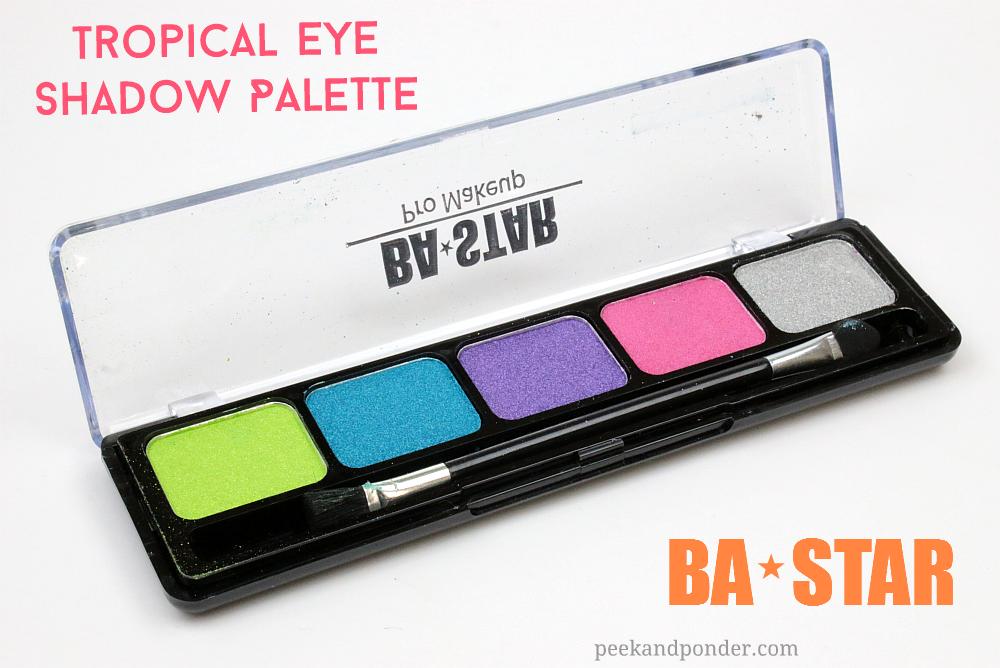 BA STAR Tropical Eye Shadow Palette