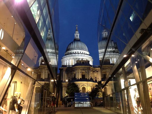 One New Change St Paul's lift