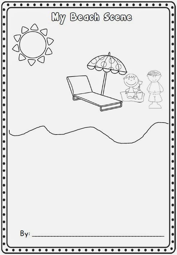 Sliding into Summer with a Freebie Clever Classroom Blog – Summer Worksheets