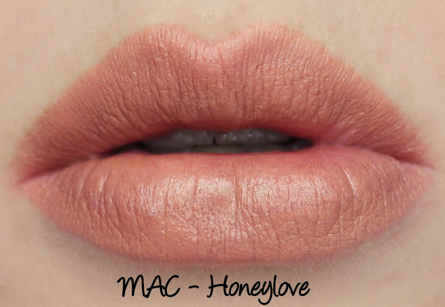 MAC Honeylove Lipstick Swatches & Review