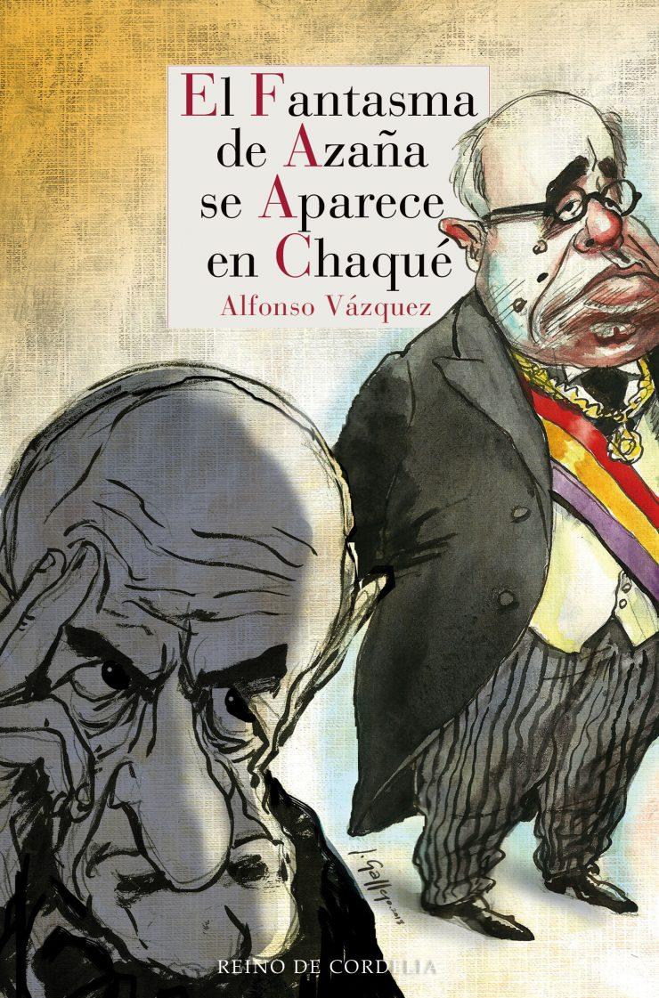 El fantasma de Azaña se aparece en chaqué de Alfonso Vázquez.