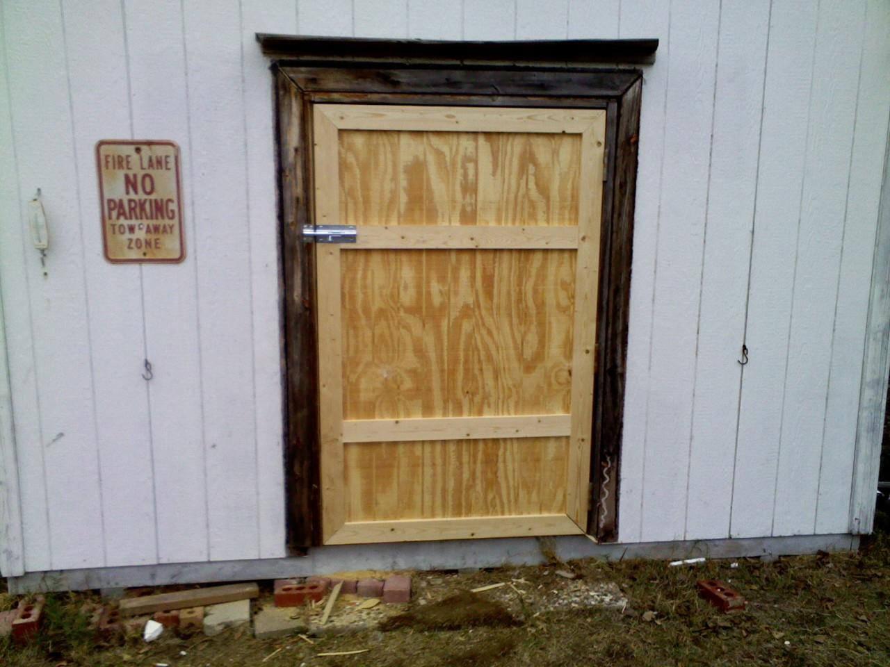 Renov8z Simple Shed Door