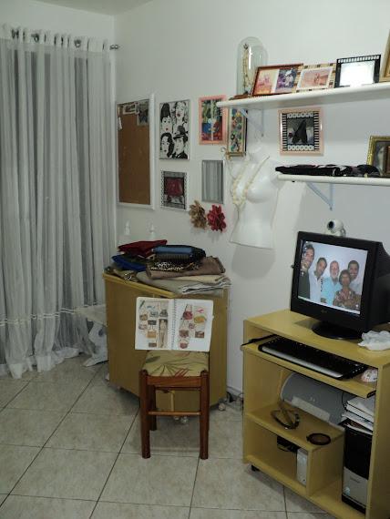 Meu novo atelier