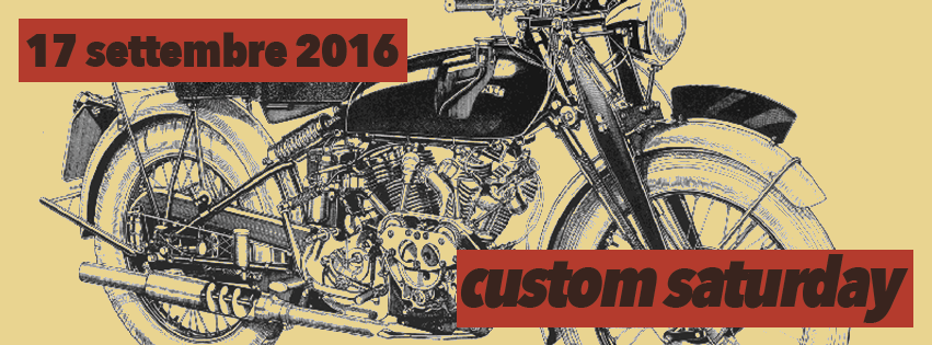 custom saturday sabato 17 settembre