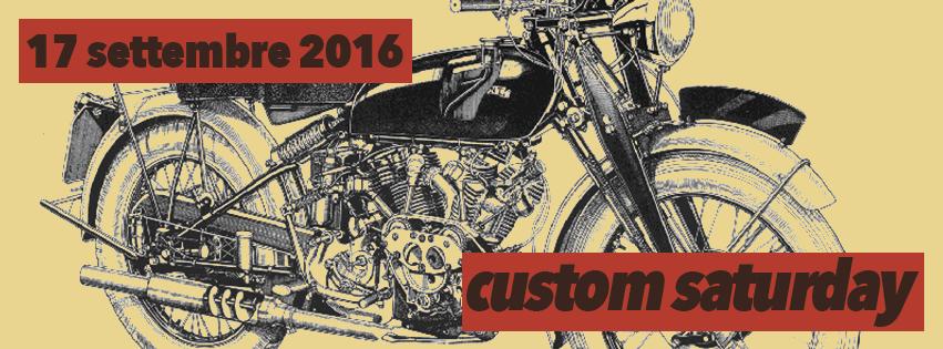custom saturday sabato 17 settembre