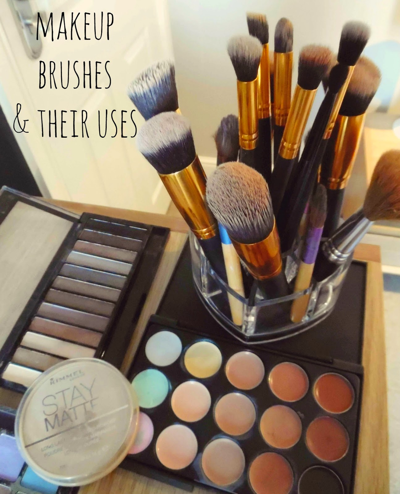 Makeup brushes and their uses