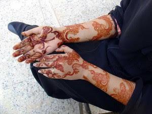 Arabic Mehndi Pattern