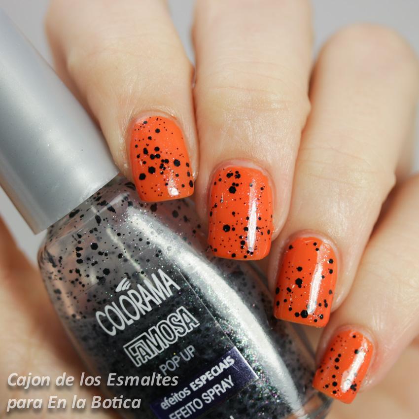 halloween - negro y naranja