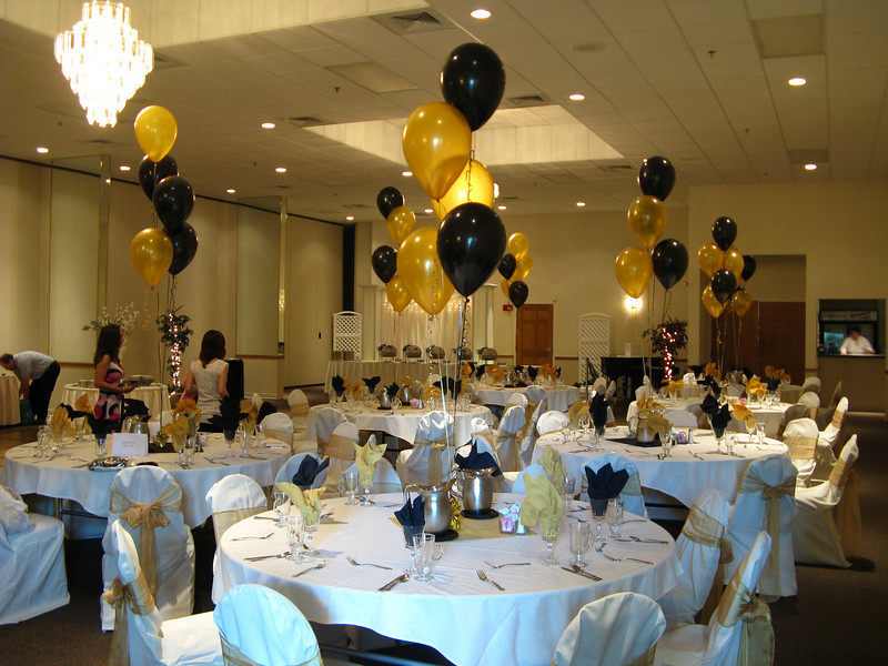 Black and gold party decorations favors ideas